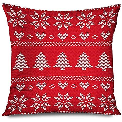 Aoyutiy Jeter kussenhoes, textuur, mode, vakantie, Kerstmis, modieus, truien, motief vakantie, Awaresome, ritssluiting, kussensloop