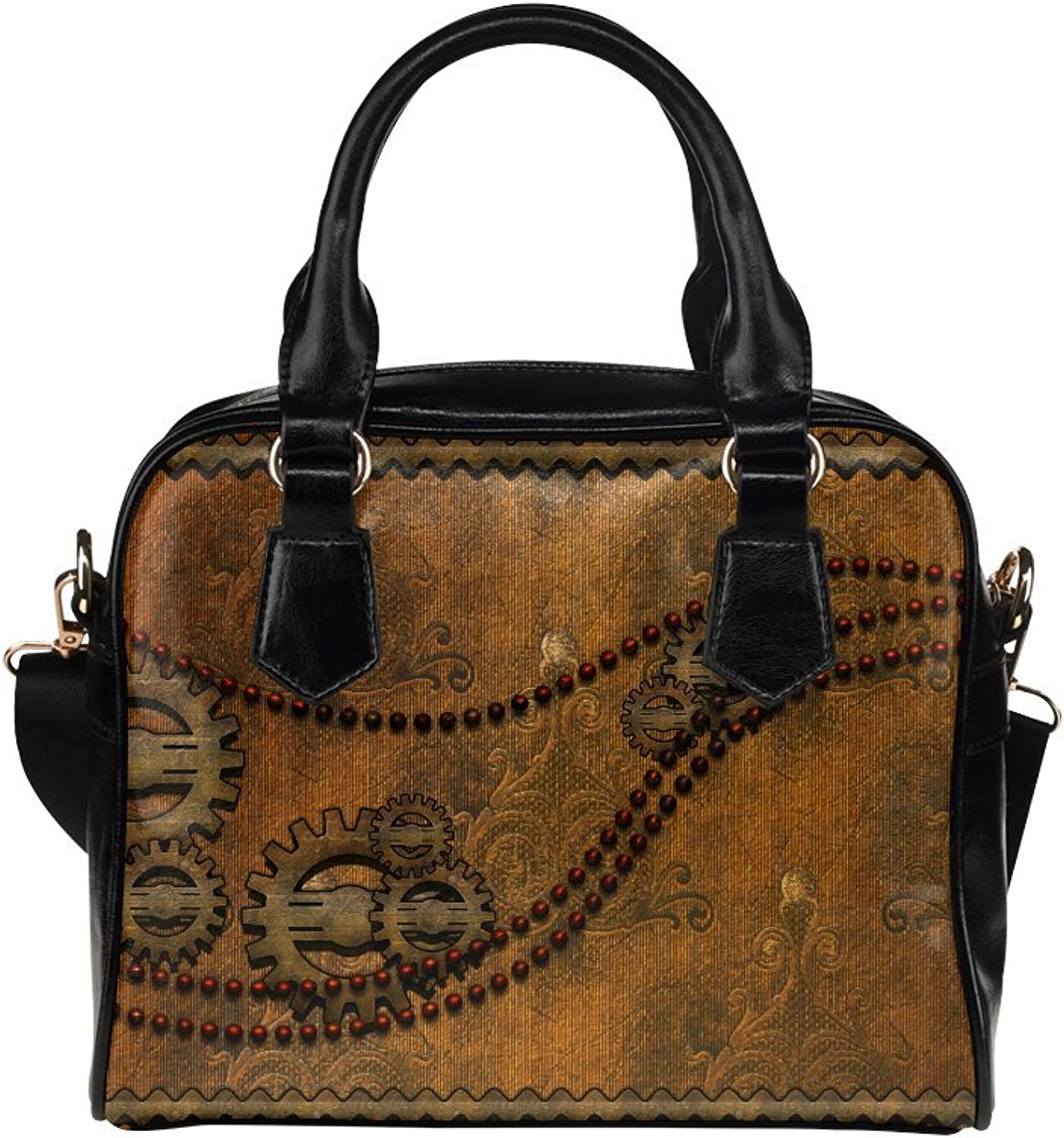 LEINTEREST Noble steampunk Women Top Handbag Shoulder Bag