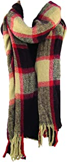 Violet Love Handwoven Plaid Winter Scarves - Scarf for Women, Fashion Scarf - MSRP $28