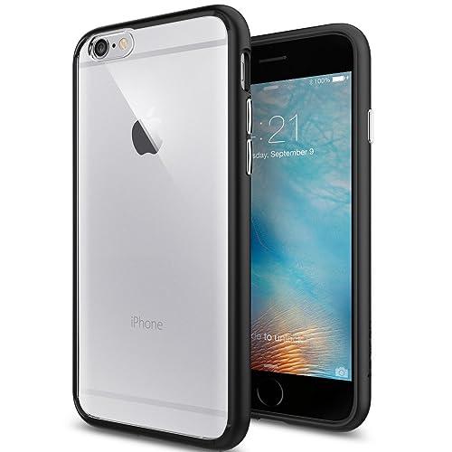 c389c66fe95 Spigen [Ultra Hybrid] [Black] Case for iPhone 6 / 6S, TPU