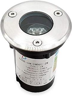 B121-SN Faretti LED da Incasso per Cartongesso GU10 8W 800LM Rotondo Satinato Orientabile 220V 6400K KIT 2PZ LineteckLED
