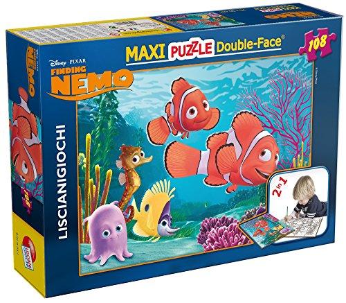 Lisciani Giochi-31726 Disney Puzzle DF Supermaxi 108 Nemo, Multicolore, 8008324031726