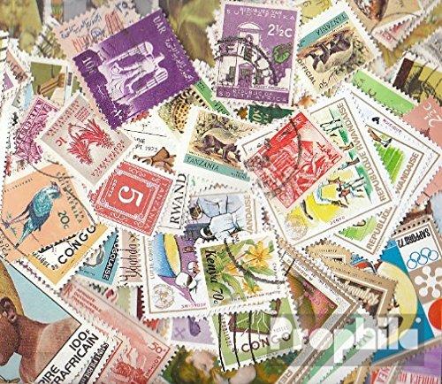 Prophila Collection Afrika 150 Verschiedene Marken (Briefmarken für Sammler)