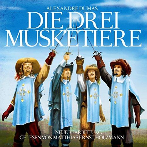 Die drei Musketiere                   Autor:                                                                                                                                 Alexandre Dumas                               Sprecher:                                                                                                                                 Matthias Ernst Holzmann                      Spieldauer: 1 Std. und 52 Min.     3 Bewertungen     Gesamt 2,3