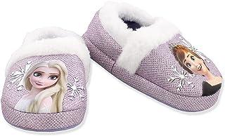 دمپایی Disney Frozen 2 Elsa Anna Girls Toddler Plush A-Line دمپایی