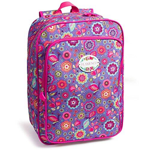 mochila escolar FLAMENCO