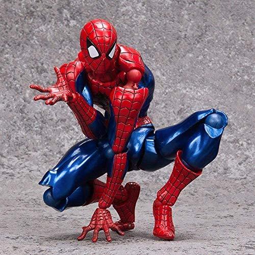 DNSJB Spider-Man: La figura de acción de regreso a casa superhéroe 16CM articulación móvil Juguetes - Juegos Infantiles regalo de cumpleaños Collection- la decoración del hogar del coche (Color: Spide