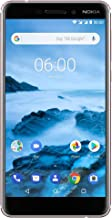Nokia 6.1 TA-1045 32GB Unlocked GSM 4G LTE Android Phone w/ 16MP Camera - White/Iron
