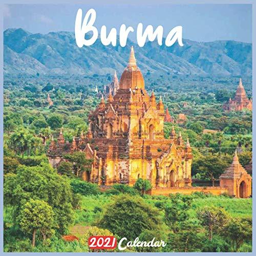 Burma 2021 Calendar: Official Burma Calendar 2021, 18 Months