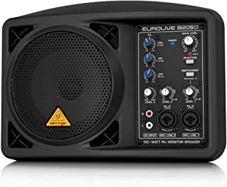 Behringer Eurolive B205D Ultra-Compact 150-Watt PA/Monitor Speaker System