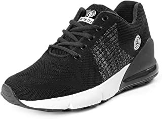 Bacca Bucci® Men's Running Sports Trainers Shock Absorbing Sneaker for Walking Gym Jogging Fitness Athletic Casual