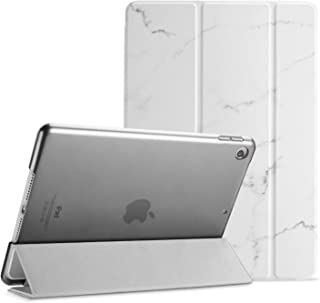 ProCase iPad 10.2 Case 2019 iPad 7th Generation Case, Slim Stand Hard Back Shell Protective Smart Cover Case for iPad 7th Gen 10.2 Inch 2019 (A2197 A2198 A2200) –Whitemarble