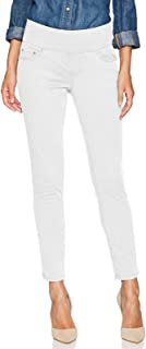 Jag Jeans Women's Jeans Bright White US 14 Skinny Leg Pull-On Stretch
