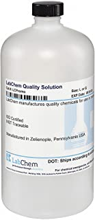 LabChem LC267502 Water Solution, Deionized, 1 L Volume