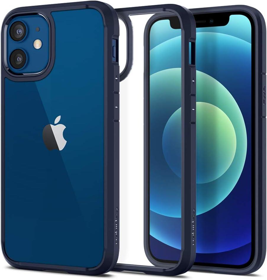Spigen Ultra Hybrid Designed for iPhone 12 Mini Case (2020) - Navy Blue