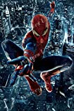 PremiumPrints - Marvel Amazing Spiderman Textless Movie Poster Glossy Finish Made in USA - FIL298 (24' x 36' (61cm x 91.5cm))