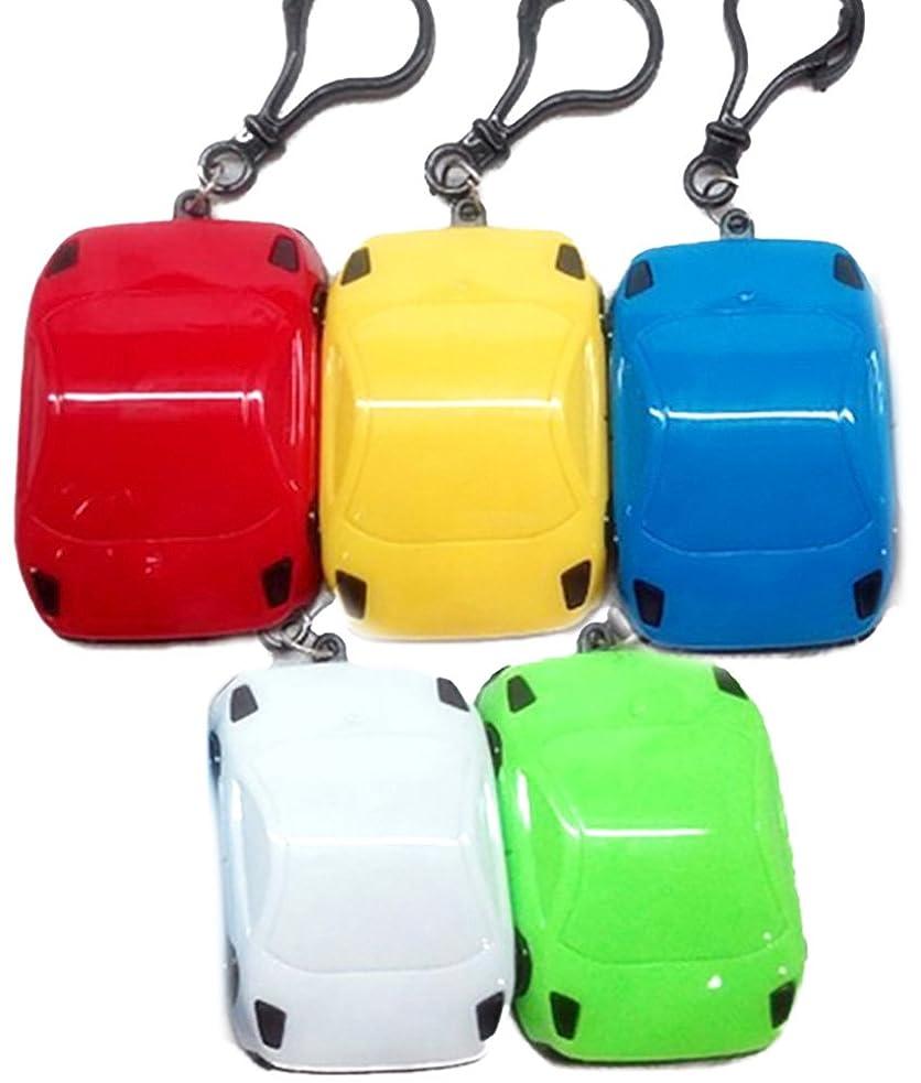 虹陽気な橋DCMA 文房具 トイ 電卓 キー ホルダー スーパーカー スタイル コンパクト 手のひらサイズ 1点 色お楽しみ