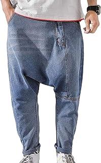 MengFanメンズ ジーンズ デニム パンツ メンズ ワイドパンツ ジーパン パンツ メンズ テーパンツ メンズ 夏 春 パンツ おしゃれ ゆったり ロングパンツ