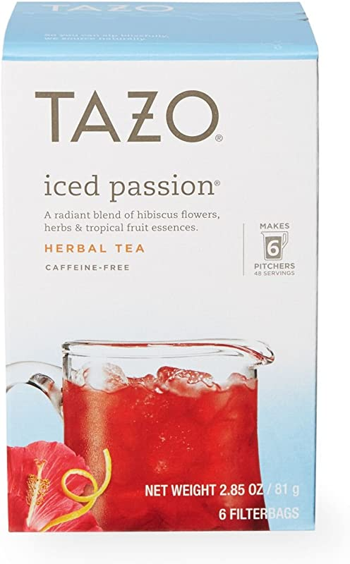 Tazo Iced Passion 6 Ct Pack Of 2