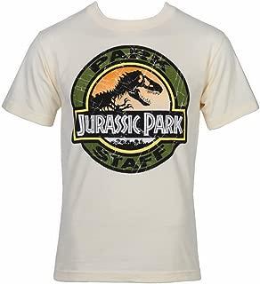 Movie Park Staff Logo T-Shirt - Sand