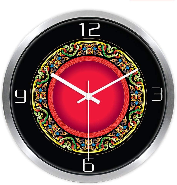 Las ventas en línea ahorran un 70%. JIAOZIHAO Una Variedad De Relojes De Parojo, Sala De Estar, Estar, Estar, Sin Marcar, Color Mudo, Reloj De Parojo, Color, Moda, Estudio Simple De Cocina, Reloj De Cuarzo, Marco De Plata, 25 cm,  Sin impuestos