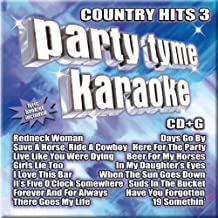 Party Tyme Karaoke: Country Hits 3