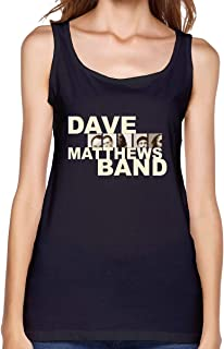 Women's Sexy Dave Matthews Band Vest Funny T Shirt Young Girl Tank Top