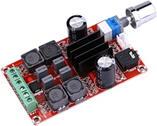 TPA3116D2 50W x 2 Digital Power Amplifier Board, 100W Class D 2 Channel Audio Stereo AMP DC12V 24V for Audio System DIY Speakers Volume Adjustable (50W+50W)