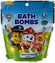 Paw Patrol Bath Bombs 2 in bag Pawsome Berry Scented