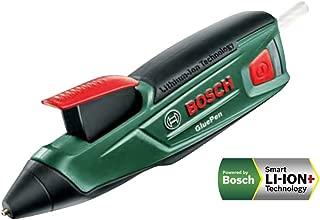 ボッシュ(BOSCH) コードレスグルーガン (グルースティッククリア4本標準付属・充電器付) GLUEPEN