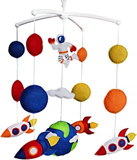 Fusée Mobile bébé berceau jouet coloré Jouet à suspendre