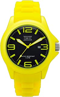 IME - Reloj de cuarzo unisex colorido