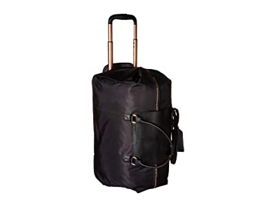 Lipault Paris Plume Avenue Wheeled Duffel Bag (Jet Black) Bags