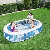 NLRHH Plegable Piscina, Piscina Inflable, Piscina de la Bola del océano, bañera de los niños inflables, Juguetes, Piscina Familiar, Piscina for niños Juguetes Party Peng