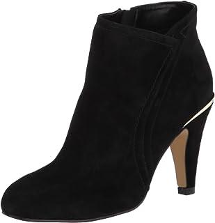 Bella Vita جزمات للكاحل للنساء, (Black Suede Leather), 40 EU X-Wide