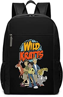 Wild Kratts 1 Backpack Laptop Backpack School Bag Travel Backpack 17 Inch