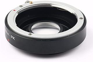 Metal PK-AI Lens Adapter Ring,Portable Camera Mount Lens Converter with Precise Thread for PK Mount Lens to for Nikon AI Mount Camera Body