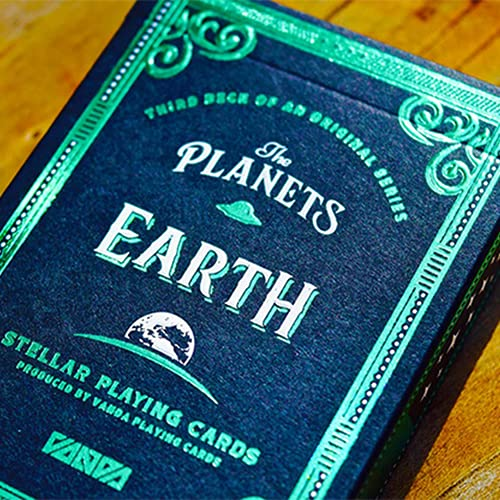Mazzo di carte The Planets: Earth Playing Cards
