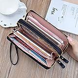 Zoom IMG-2 portafoglio donna con doppia cerniera