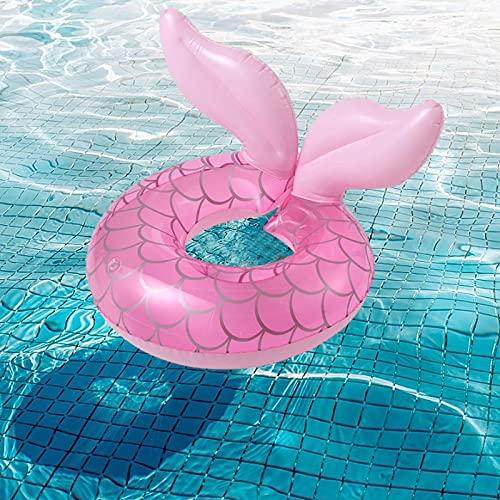 Cirdora Flotador para Bebé Anillo De Natación Asient Flotador De Piscina para Bebés Anillo Flotador Bebe Bebé Inflable Anillo De Piscina Anillo De Natación Playa Baby Float para Niños 0-8 Años