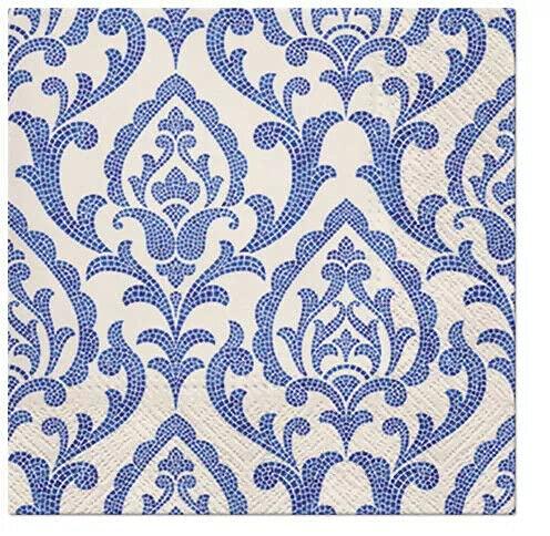 20 servilletas de papel exclusivas para el almuerzo Decoupage Evento Fiesta Portugués Azulejos SDL126400