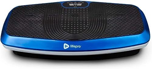 LifePro Hovert 3D Vibration Plate Machine - Dual Motor Oscillation, Lateral + 3D Motion Viberation Platform Machine -...