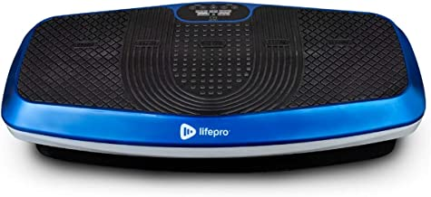 LifePro Hovert 3D Vibration Plate Machine – Dual Motor Oscillation, Lateral + 3D..