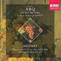 Mozart: Piano Concerto No. 12 / Piano Quartet No. 2, K. 414,493 (2000-01-01)