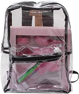 Transparent Backpack, Fanspack Ladies Backpack Casual Clear School Backpack Travel Rucksack Bookbag