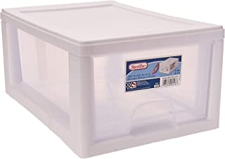 large stackable plastic drawers