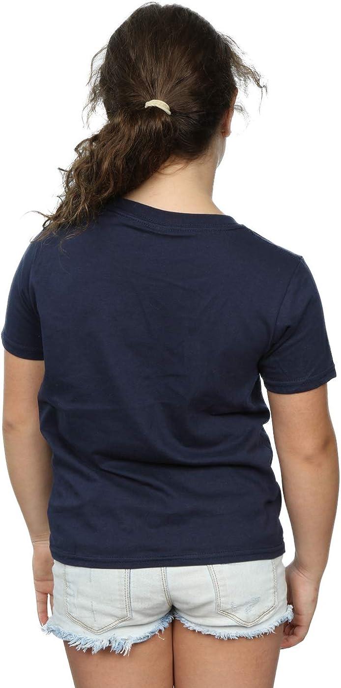 MARVEL Girls Avengers Captain America Cracked Shield T-Shirt