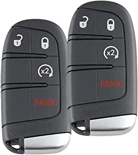 $47 » Sponsored Ad - 2 Pack Keyless Entry Remote Car Key Fob Replacement Fit M3N-40821302 for 2011-2016 Dodge Charger 2013-2016 ...