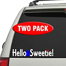 Hello Sweetie! 2 Pack - Doctor Who - Vinyl decal in three colors!