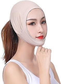Slimming Cheek, V Face Thin, Face Lifting Slimming Bandages Wellness s Antistress s Gladde ademende compressie Kinband Nek...